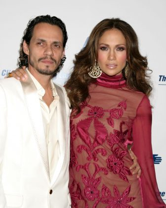 Jenny from the block only dated singer Marc Anthony for six months before the two were engaged in 2004 and married soon after in Brooklyn. Sadly, it all came crumbling in 2012 when the two stars divorced. (Photo: WENN)