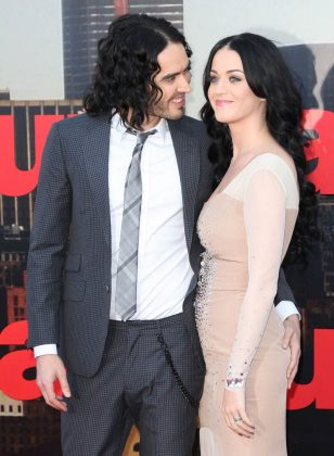 Katy Perry and Russell Brand became engaged only three months after they started dating. They tied the know in India shortly after. However, in 2012, the comedian let Katy know he wanted to get divorced—via text. (Photo: WENN)