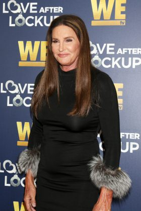 "In 2018, Caitlyn Jenner uploaded a picture of herself with quite a lot of skin missing from the tip of her nose. People magazine later confirmed she had ""cancerous basal cell carcinoma"" removed from her face. (Photo: WENN)"