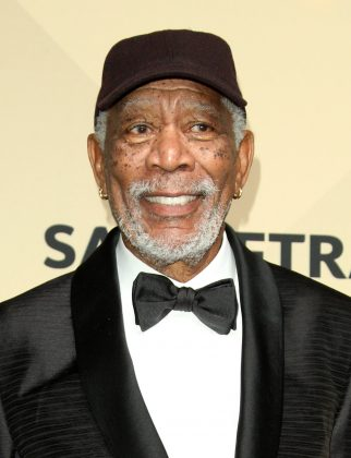 Morgan Freeman's face is recognizable from the many blockbuster movies he's starred in. It's also characterized by dermatosis papulos nigra, a skin condition that creates dark raised areas. (Photo: WENN)