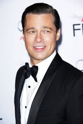 "The one and only Brat Pitt was actually part of a six-man stripping troupe back in college called ""The Dancing Bares."" The strippers, including Pitt himself, would perform at college parties. (Photo: WENN)"