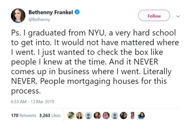 I've literally worked with people from Ivy League schools and we make the same pay! (Photo: Twitter)