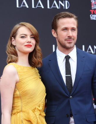 The two have been plagued by breakup rumors for years. In 2014, reports claimed Rachel McAdams was trying to wedge Eva out of the relationship. In 2015, the attention shifted onto Emma Stone, who was filming 'La la land' with Ryan. (Photo: Release)