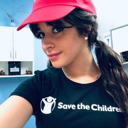 He heart is in the right place. Since her rise to fame, Camila Cabello has been involved with a number of charities. More recently she partnered with Save the Children to design a limited edition 'Love Only' t-shirt, helping raise awareness of issues regarding girls' equal rights. (Photo: Instagram)