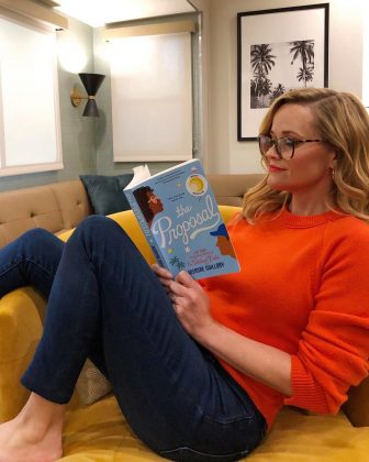 Reese is a big book nerd! Not only does the actress option the rights to books through her production company and turn them into movies, but fans have also come to rely on her Instagram book picks when they need a new recommendation. (Photo: Instagram)