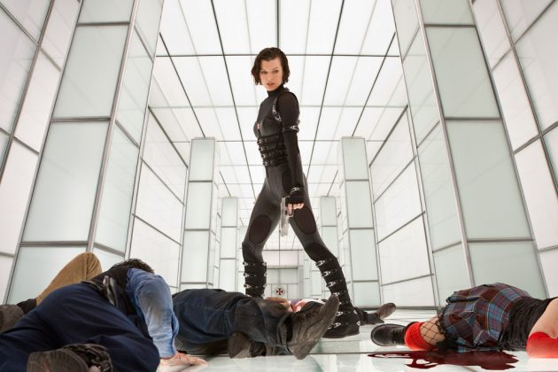 Alice, from the 'Resident Evil' franchise, became a recognizable action hero as she blasted her way through waves of the undead in her mission to take down the Umbrella Corp. (Photo: Release)