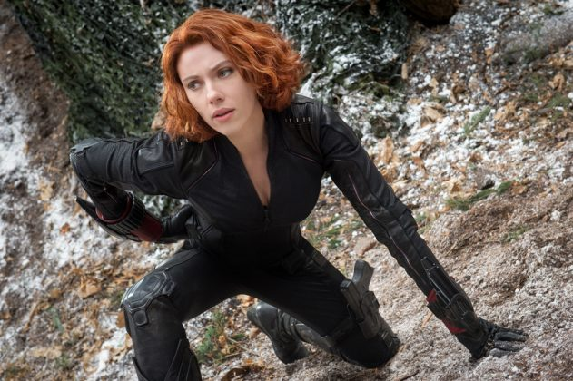 It takes a certain kind of bada** to stand against gods and monsters with nothing but guns and gadgets. And that's exactly who Black Widow is. (Photo: Release)