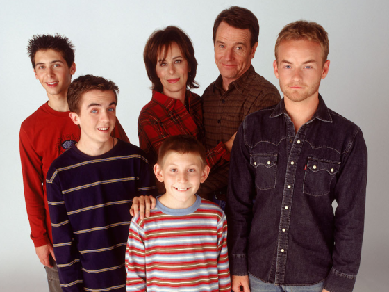 The 'Malcolm in the Middle' family didn't stop being a family when the cameras stopped running. It is believed during the filming of the series, Cranston would invite Erik Per Sullivan to his house on weekends so he could experience a normal childhood. (Photo: Release)