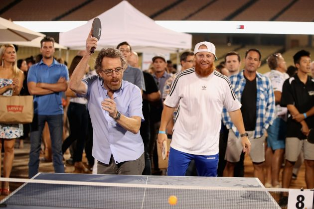Bryan is also a ping pong aficionado. He keeps a ping pong table in his yard, and, according to GQ magazine, it's not just for show. He even hosted Matthew McConaughey's ping pong tournament to raise money for disadvantaged children. (Photo: Release)