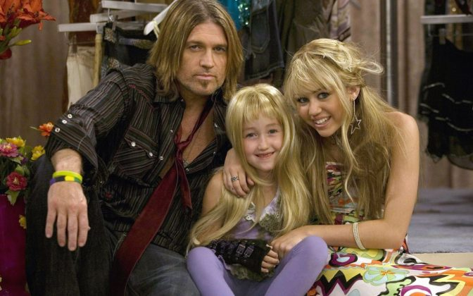 Noah and Brandi Cyrus, Miley's sisters, both had several cameos throughout the show. (Photo: Release)
