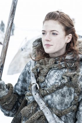 The pair played on-screen lovers Jon Snow and Ygritte. (Photo: Release)