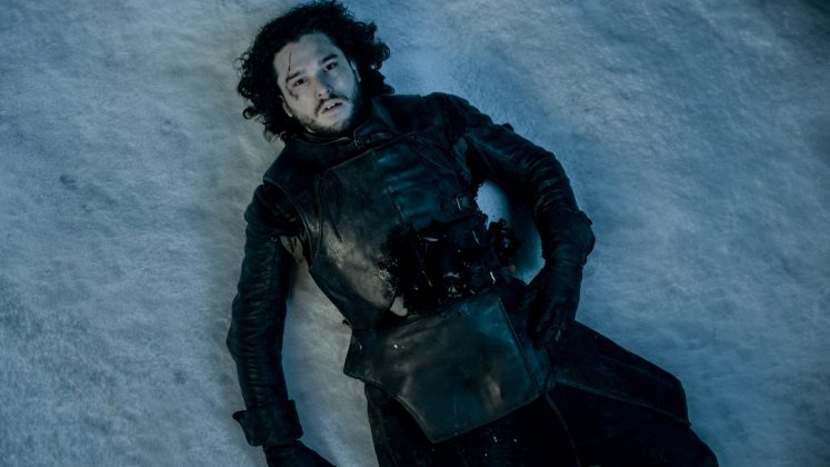 At the very end of season 5 of 'Game of Thrones', Jon Snow was left for dead. (Photo: Release)