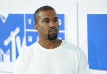 Kanye West can't retire from music because of a legal contract. (Photo: WENN)