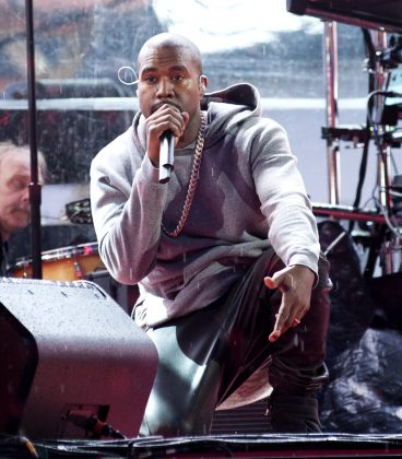 Kanye signed his contract with EMI in 2003. (Photo: WENN)
