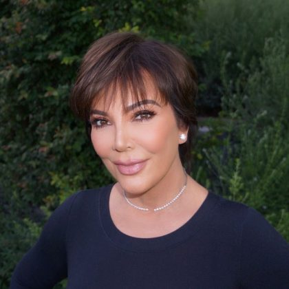 Kris Jenner has an estimated net worth of $60 million, thanks to her role as executive producer of 'Keeping Up With The Kardashian's and her role as family 'momager'. She also has endorsement deals of her own, like her Fendi Campaign with Kim and North in 2018. (Photo: Instagram)