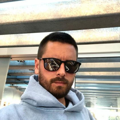 Scott Disick, Kourtney's ex and the father of their children Mason, Penelope, and Reign, is worth around $16 million. He has appeared on KWUTK and various spinoffs, and makes money from appearance fees and endorsement deals. (Photo: Instagram)