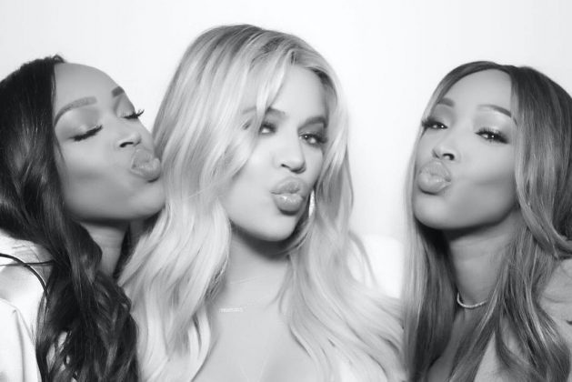 Who are Khloé Kardashian's best friends and how are they supporting her in the wake of this outrageous cheating scandal? Click through to find out. (Photo: Instagram)