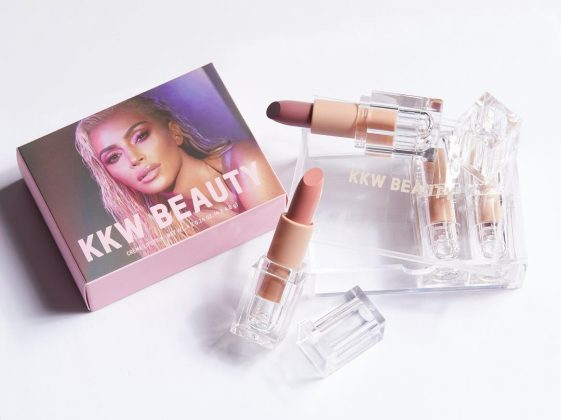 In 2017, Kim Kardashian West announced her first makeup line, KKW Beauty. (Photo: Instagram)