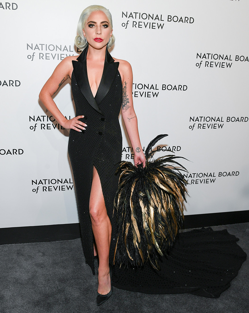 f2c5c29ddea6 Stefani brought the drama to the 2019 National Board of Review Awards gala  in a custom