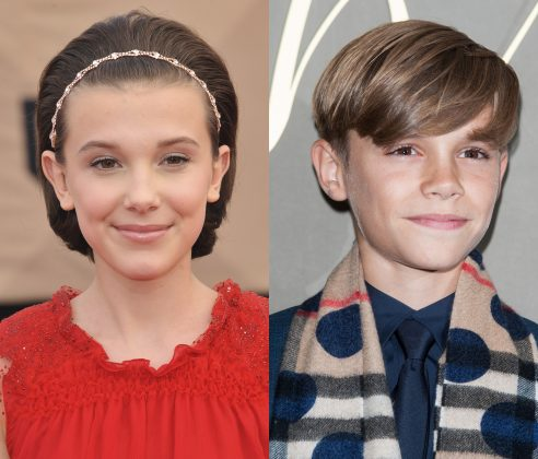 Millie Bobby Brown and Romeo Beckham are dating! (Photo: WENN)