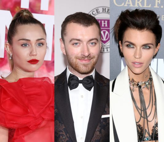 Click through our photo gallery to learn about Sam Smith and 8 other non-binary celebrities who are breaking societal norms. (Photo: WENN)
