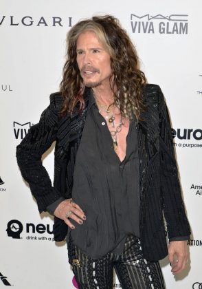 "In his memoir, Aerosmith frontman Steven Tyler cleared up rumors indicating that he is more female than male. The singer made it plain that he refers to himself as ""half and half"", which explains his style of dress and overall fashion choices. (Photo: WENN)"