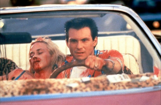 Tarantino co-wrote and directed a movie called 'My Best Friend's Birthday' in 1987. Unfortunately, a fire destroyed the film roles almost completely. The 1993 movie 'True Romance' was based on Tarantino's original screenplay. (Photo: Release)