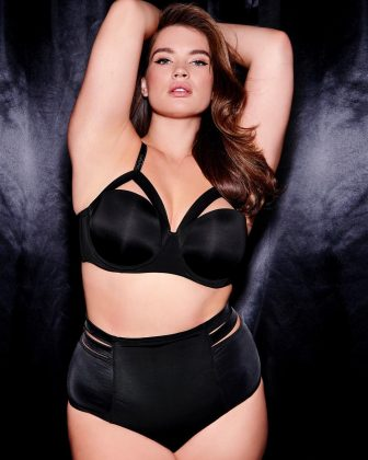 After dealing with he own body image issues in her youth as a UK size 18-20, Tara Lynn now inspires diversity in the modelling industry and encourages women to embrace their natural figure. Follow her @taralynn. (Photo: Instagram)