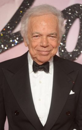 The famed designer Ralph Lauren was once a clerk at Brooks Brothers dreaming of men's ties. His net worth exceeds the $7 billion mark. (Photo: WENN)