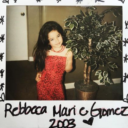 Her full name is Rebecca Marie Gomez. Her grandparents moved from Mexico to the US. She was bornin Inglewood, California on March 2, 1997. (Photo: Instagram)