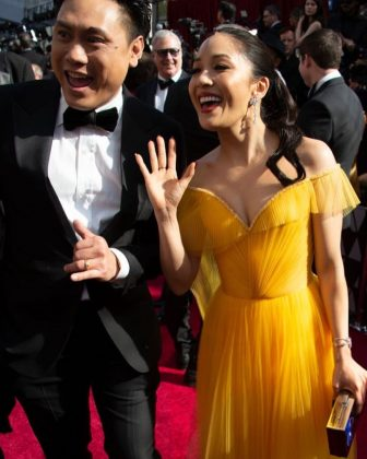 She initially turned down the lead role for 'Crazy Rich Asian's due to scheduling conflicts. However, she wrote a heartfelt note to director Jon M. Chu begging him to move production so she could be a part of the project. And he did. (Photo: Instagram)