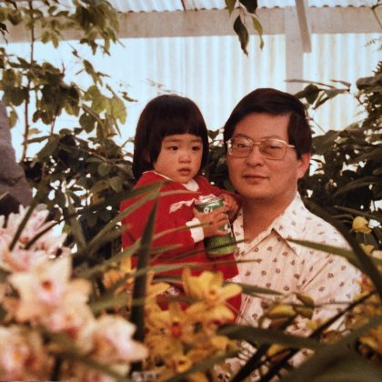 """Constance' parents were """"illiterate bamboo farmers"""" in Taiwan before moving to America. Her dad worked his way up until he achieved a Ph.D. He's now a sciences professor at Virginia Commonwealth University. (Photo: Instagram)"""