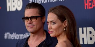 Angelina Jolie has dropped Brad Pitt's last name. (Photo: WENN)