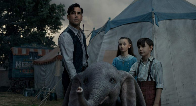 Colin Farrell stars as Holt in the Tim Burton film. (Photo: Release)