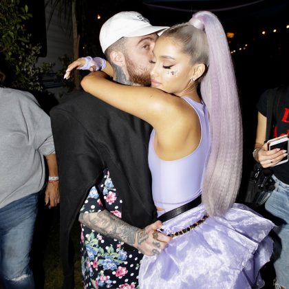 She was in a relationship with Mac Miller from 2016 to 2018. (Photo: Instagram)