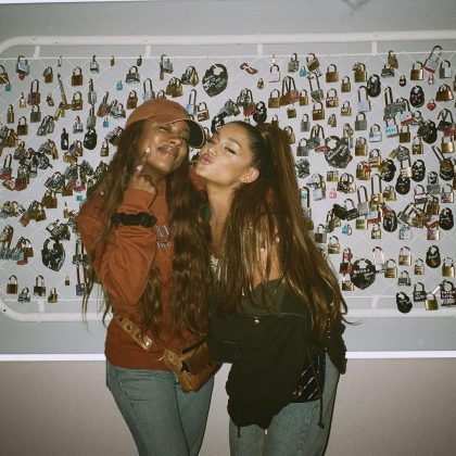 "Ariana Grande and Victoria Monét dropped the song ""Monopoly."" (Photo: Instagram)"