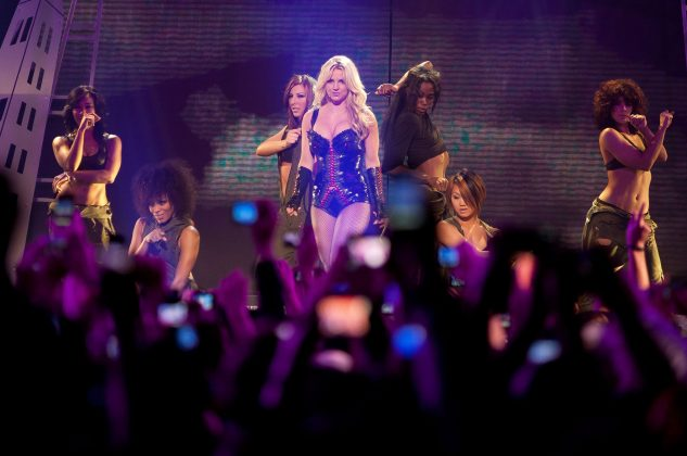 In January, Britney Spears pulled out of her new series of concerts in Las Vegas to be with her family. (Photo: WENN)