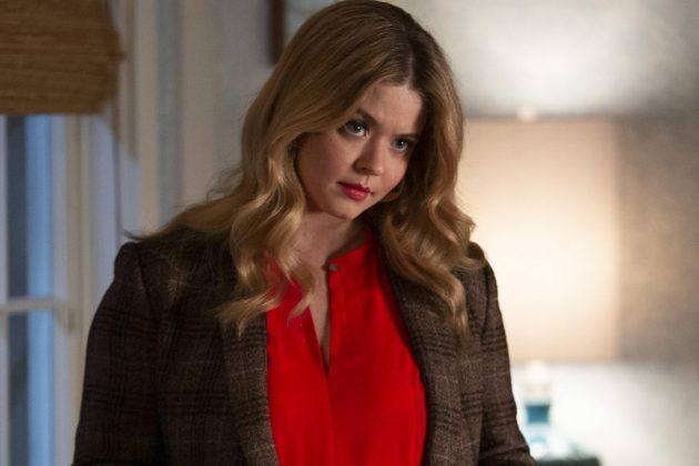 "You may have figured it out before it was actually revealed on screen after a few seasons of ""Pretty Little Liars."" But yeas, Alison was alive the whole time. (Photo: Release)"