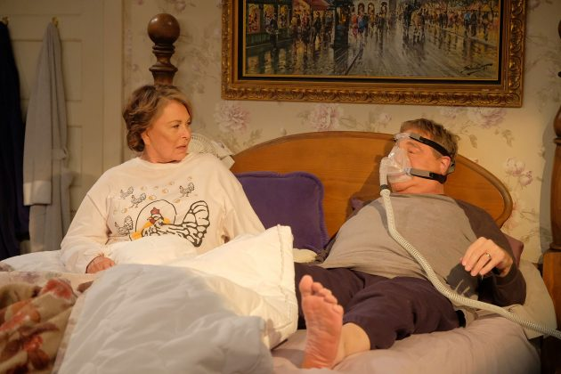 "The revival of ""Roseanne"" explained away Dan's death on the original series' depressing finale as a joke in the first few minutes of its return. (Photo: Release)"