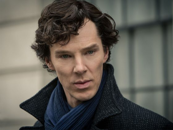 Benedict Cumberbatch's Sherlock Holmes jumped from a hospital roof to his death. Fans had to wait two long years to find out how the character survived. (Photo: Release)