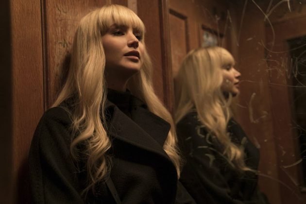 Her last movie was the 2018 espionage thriller Red Sparrow. (Photo: Release)