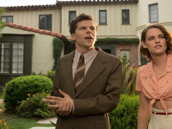"If it doesn't reach the heights of Woody Allen's best—""Blue Jasmine"" was his last great film— ""Café Society"" still has several rich touches, from lovely visuals, to the luminous performance by Kristen Stewart. (Photo: Release)"