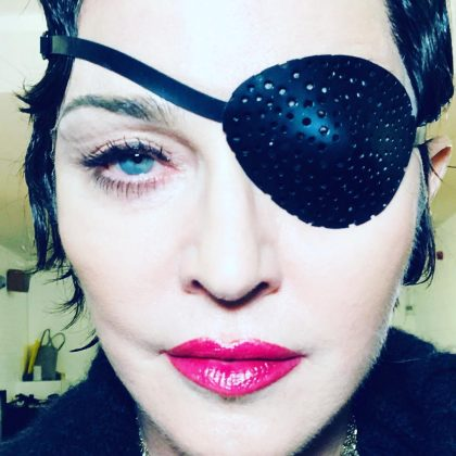 """Madame X is a dancer, a professor, a head-of-state, a housekeeper, an equestrian, a prisoner, a student, a mother, a child, a teacher, a nun, a singer, a saint a, whore, a spy in the house of love."" (Photo: Instagram)"