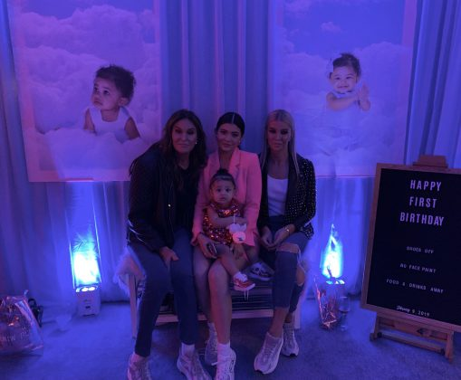 Sophia's relationship with Caitlyn's daughter is largely unknown. However, pictures of Sophia celebrating Stormi's first birthday suggest these two get along. (Photo: Instagram)