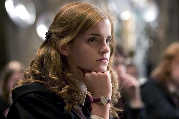 She just can't keep her mouth shut. Every class, Hermione acts like such a know it all. Okay… maybe she does know everything, but, girl, there's no need to rub it in our stupid faces! (Photo: Release)
