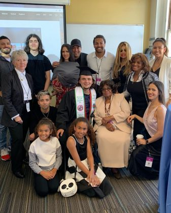 Prince Jackson celebrated his graduation from Loyola Marymount University over the weekend. (Photo: Instagram)