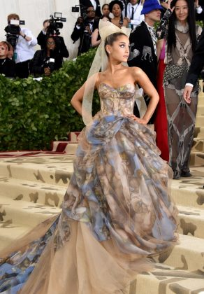 Ariana Grande, who had a heavenly debut las year, was noticeably missing from the 2019 gala. The singer is currently on her Sweetener World Tour. (Photo: WENN)