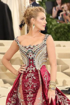 Blake Lively skipped the Met Gala on Monday. Perhaps because she couldn't find a maternity dress in time, or maybe she just needs some rest. (Photo: WENN)