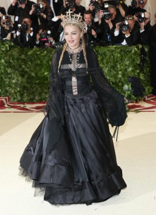 "Madonna performed at the 2018 ""Heavenly Bodies""-themed Met Gala in 2018. But the Queen of Pop took a break from the festivities this year. (Photo: WENN)"