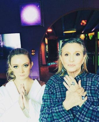 Carrie Fisher and Billie Lourde are a mother and daughter duo out of this world! (Photo: Instagram)